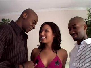 alle orale seks film, deepthroat, mooi dubbele penetratie thumbnail