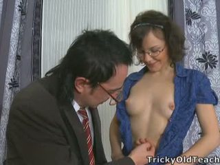 When The Doll Touched Old Man's Cock It Turned Fat Immediately.