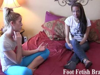 meest footjobs, heet footfetish video-, ideaal foot-job klem