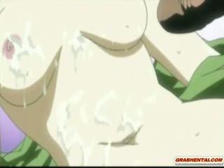 japanse scène, hentai thumbnail, masturbatie video-