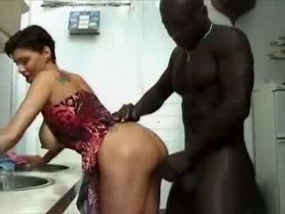大美女 france 家庭主婦 haviing 性別 同 非洲的 公雞 視頻