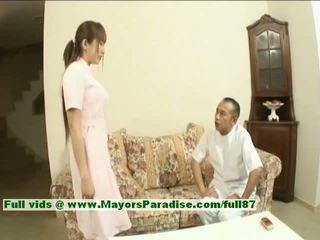 Myuu hasegawa innocent cantik warga cina gadis gets teased