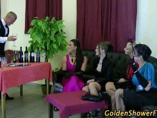 Fetish wine tasting glam hotties