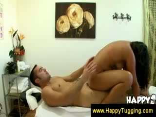 Asian fucks a guy and finishes him off