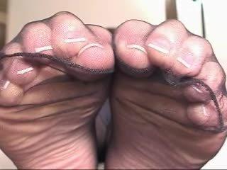 乌木 丝袜 脚 玩 4