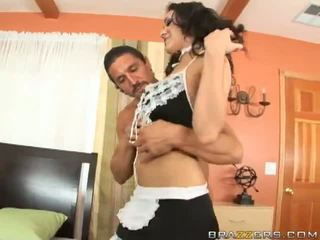 Latin Maid Gives The Best Room Service Ever Video