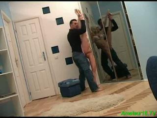 Horny Ballerina Is Pumped