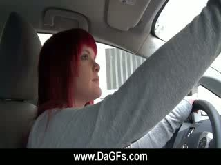 Emo ex teasing σε ο αμάξι