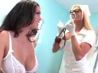 מוזר אחות nikita tries ל לרפא alison