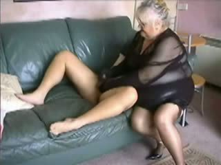 Amateur BBW Granny Fucked Video
