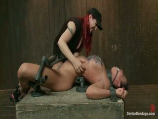 vol slavernij, echt bondage sex neuken, vastgebonden-up