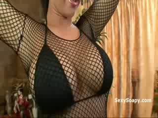 vol tieten vid, heet brunette thumbnail, ideaal buit porno