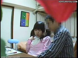 Sexe tutorial vidéo à students salle