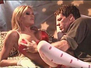 Briana banks في أبيض جنسي جوارب having جنس