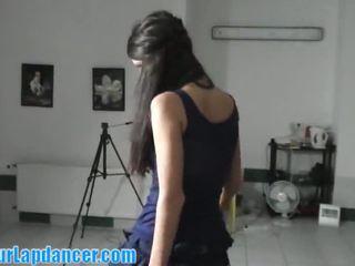 brunette video, kissing, fresh striptease