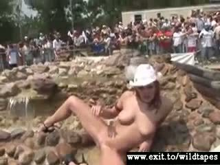 Public nudity with Dozens of hot Amateurs Video