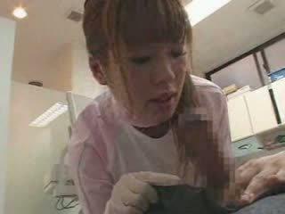 Female Japanese dentist Video