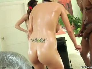 Haley Cummings And Jaime Elle Load Their Body With Cum
