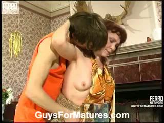 Lillian And Marcus Irresistible Aged Lady Inside Action