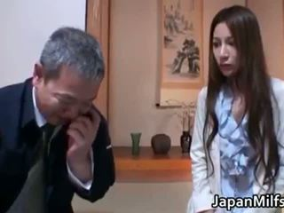 Anri Suzuki horny kinky Asian mother part1