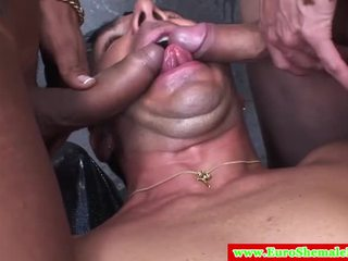 shemale, full tranny most, threesome rated