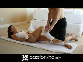 Sexy aeróbic entrenamiento