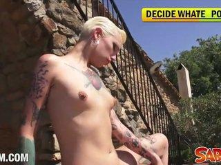tattoos neuken, vol punker porno, cumshot