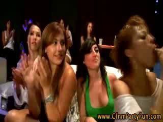 Cfnm real girls get real dick at a real party with real strippers