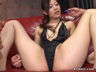 Horny Asian Babe Receives Serious Toy Ramming!