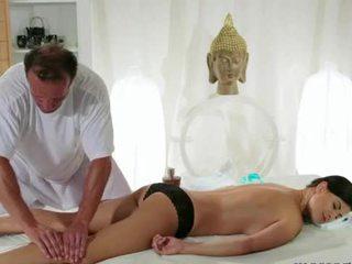 een tieten actie, vol neuken vid, kwaliteit masseur