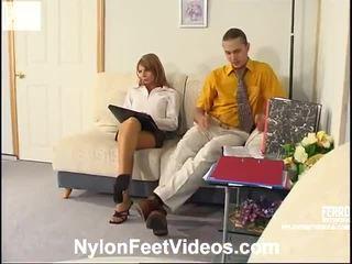 fetysz stóp, najbardziej pończochy seks najlepsze