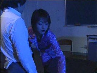 Горещ jap неприятен учител 1-by packmans