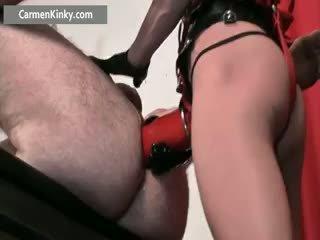 plezier speelgoed, anaal porno, controleren femdom