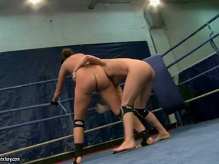 Eliska Cross And Lisa Sparkle Nude Sweethearts Fighting