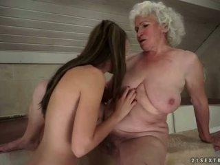 sexe lesbien, jeunes et vieux, hd porn