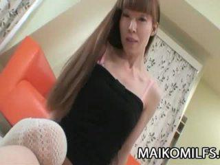 vol neuken gepost, orale seks klem, echt japanse scène