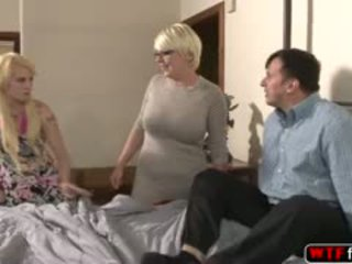 blowjob, ass, có ba người, cô gái tóc vàng