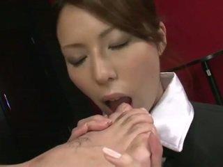 Rino sucks foot and cock