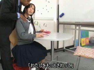 japonec, skontrolovať školáčky každý