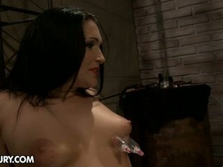 Carrmen Is Able To Be Such The Pain Slut. She Likes To Be Tortured...