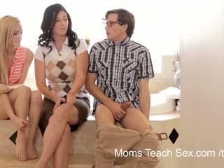 Mütter lehren sex