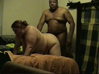 bbw, zwart en ebony video-, heetste interraciale video-