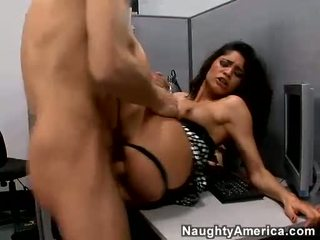 Milf Paola Rey Acquires Her Pussy Guy By A Massive Meatstick