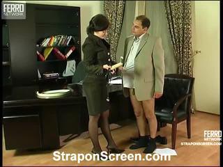 dikke kont, strapon sex video-