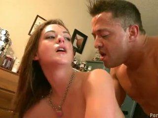 tiener sex, mooi hardcore sex kanaal, cumshots klem
