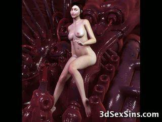 Monsters ejaculações em 3d bebês! vídeo