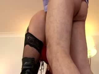 Watch stockings babe amateur get fucked