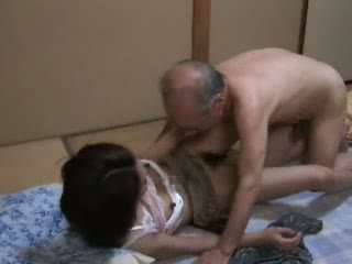 Japanese Grandpa Ravishing Teen Neighbors Daughter Video