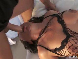Vanessa blake 바보 pounded 에 fishnets