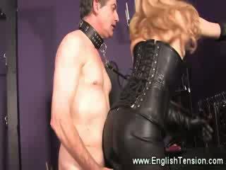 Strict nahk domina allows masturbation